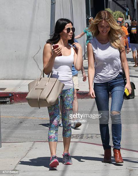Jenna Dewan is seen on May 20 2015 in Los Angeles California