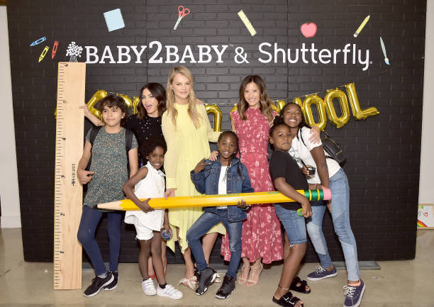 CA: Jenna Dewan Hosts The Baby2Baby Back-To-School Celebration Presented By Shutterfly