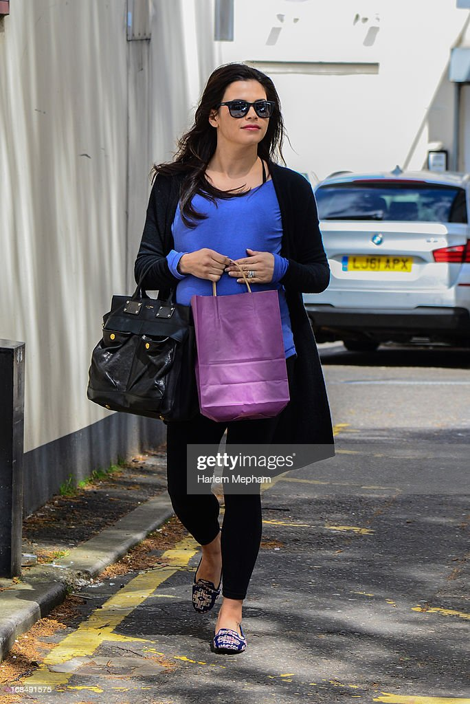 Jenna Dewan sighted in Primrose Hill on May 10, 2013 in London, England.
