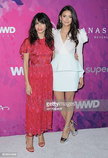 Jenna Dewan Tatum and Nina Dobrev arrive at Variety And WWD Host 2nd Annual StyleMakers Awards at Quixote Studios West Hollywood on November 17 2016...