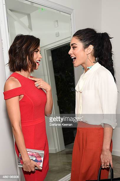 Jenna Dewan Tatum and Vanessa Hudgens attend The A List 15th Anniversary Party on September 1 2015 in Beverly Hills California