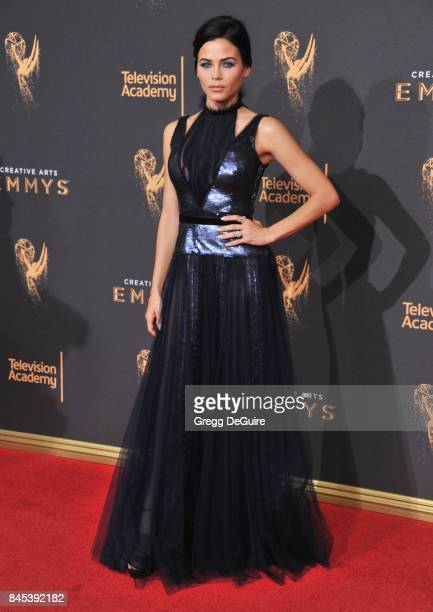 Jenna Dewan Tatum arrives at the 2017 Creative Arts Emmy Awards Day 1 at Microsoft Theater on September 9 2017 in Los Angeles California