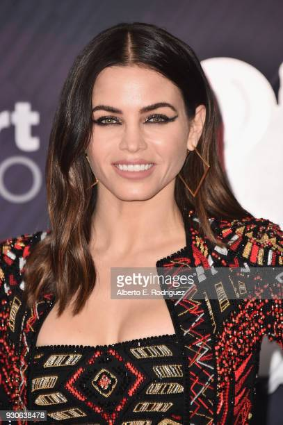 Jenna Dewan Tatum arrives at the 2018 iHeartRadio Music Awards which broadcasted live on TBS TNT and truTV at The Forum on March 11 2018 in Inglewood...