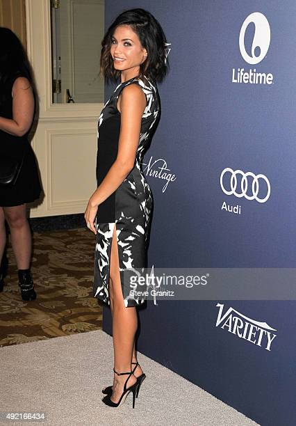 Jenna Dewan Tatum arrives at the Variety's Power Of Women Luncheon at the Beverly Wilshire Four Seasons Hotel on October 9 2015 in Beverly Hills...