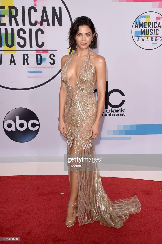Jenna Dewan Tatum attends 2017 American Music Awards at Microsoft Theater on November 19, 2017 in Los Angeles, California.