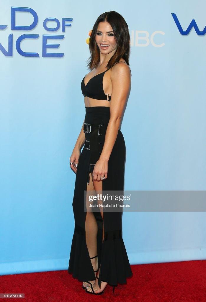 Jenna Dewan Tatum attends a photo op for NBC's 'World Of Dance' on January 30, 2018 in Burbank, California.