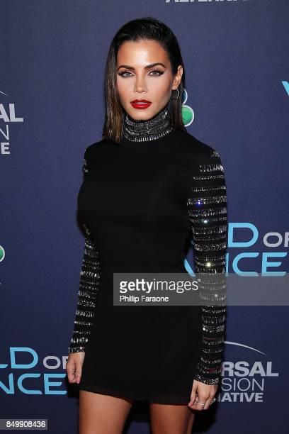 "Jenna Dewan Tatum attends NBC's ""World of Dance"" celebration at Delilah on September 19, 2017 in West Hollywood, California."