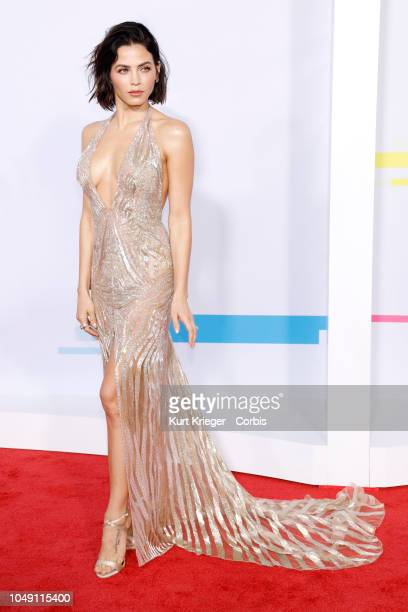 Jenna Dewan Tatum attends the 2017 American Music Awards at Microsoft Theater on November 19 2017 in Los Angeles California United States