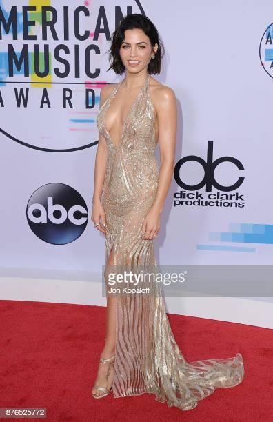 Jenna Dewan Tatum attends the 2017 American Music Awards at Microsoft Theater on November 19 2017 in Los Angeles California