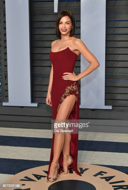 Jenna Dewan Tatum attends the 2018 Vanity Fair Oscar Party hosted by Radhika Jones at Wallis Annenberg Center for the Performing Arts on March 4,...