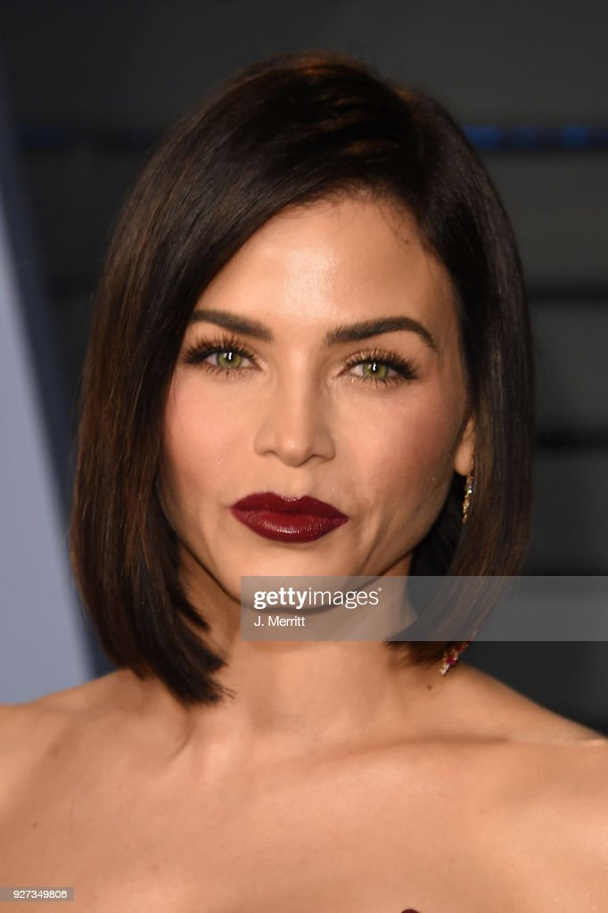 Jenna Dewan Tatum attends the 2018 Vanity Fair Oscar Party hosted by Radhika Jones at the Wallis Annenberg Center for the Performing Arts on March 4, 2018 in Beverly Hills, California.
