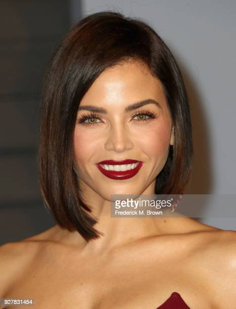 Jenna Dewan Tatum attends the 2018 Vanity Fair Oscar Party hosted by Radhika Jones at Wallis Annenberg Center for the Performing Arts on March 4 2018...