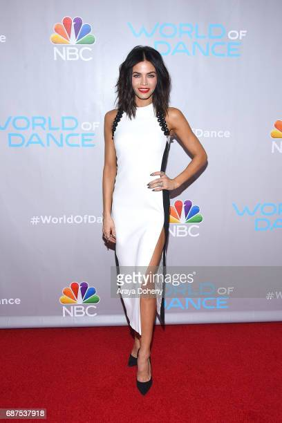 """Jenna Dewan Tatum attends the photo op for NBC's """"World Of Dance"""" at NBC Universal Lot on January 25, 2017 in Universal City, California."""