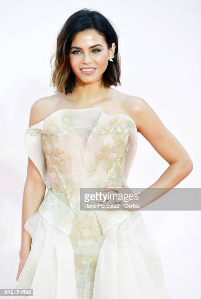 Jenna Dewan Tatum attends the UK premiere of 'Kingsman The Golden Circle' at Odeon Leicester Square on September 18 2017 in London England