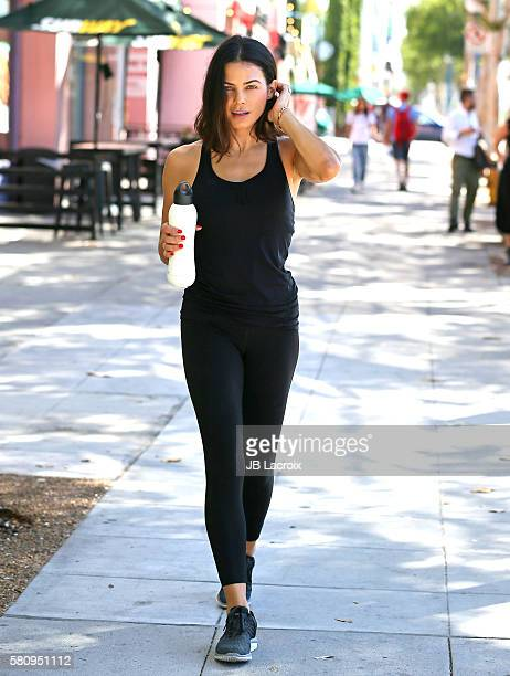 Jenna Dewan Tatum spotted postworkout in West Hollywood with her bobble Insulate water bottle on July 25 2016 in Los Angeles California