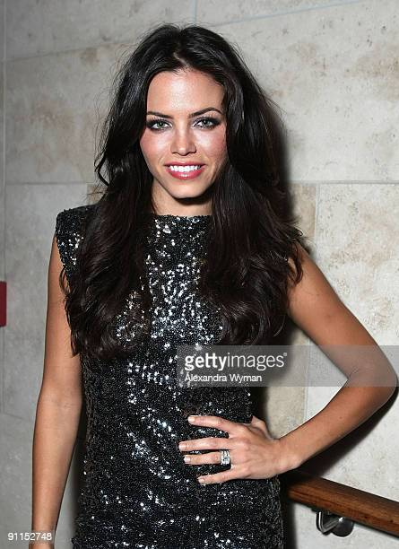Jenna Dewan wearing Alice and Olivia at a special event for Alice and Olivia by Stacey Bendet hosted by Neiman Marcus at The Thompson Hotel on...
