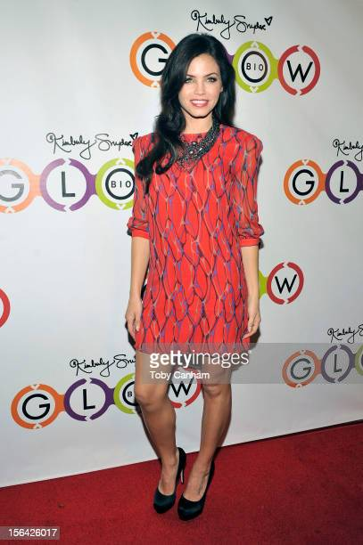 Jenna DewanTatum arrives for the opening of Kimberly Snyder's Glow Bio at Glow Bio on November 14 2012 in West Hollywood California