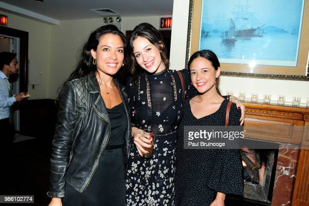 Jenna DiMartini Jordan Schramka Alexandria Llamas attend The Cinema Society With Synchrony And Avion Host The After Party For Marvel Studios' 'AntMan...
