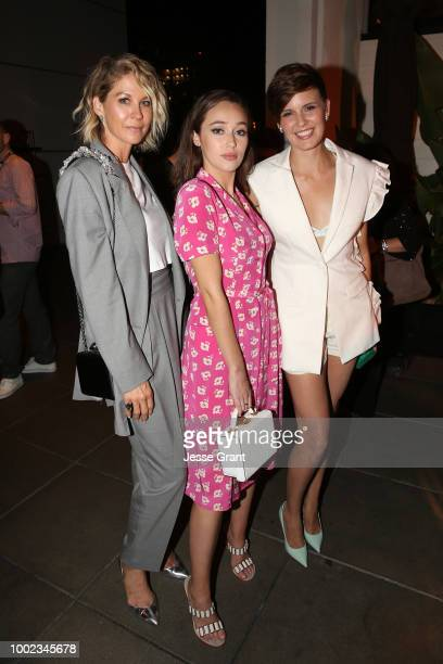 Jenna Elfman Alycia DebnamCarey and Maggie Grace attend AMC's 'Better Call Saul' Premiere during Comic Con 2018 at UA Horton Plaza on July 19 2018 in...