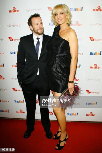 """Jenna Elfman and Bodhi Elfman arrive to the 3rd Annual """"Rock The Kasbah"""" fundraising gala held at Vibiana on October 26, 2009 in Los Angeles,..."""