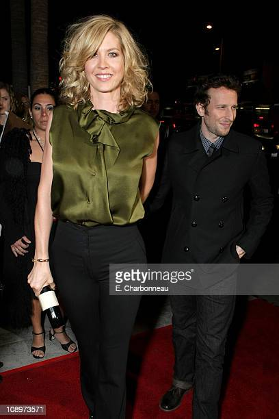 Jenna Elfman and Bodhi Elfman at the Los Angeles Premiere of Lions For Lambs at the Cinerama Dome on November 1 2007 in Hollywood California