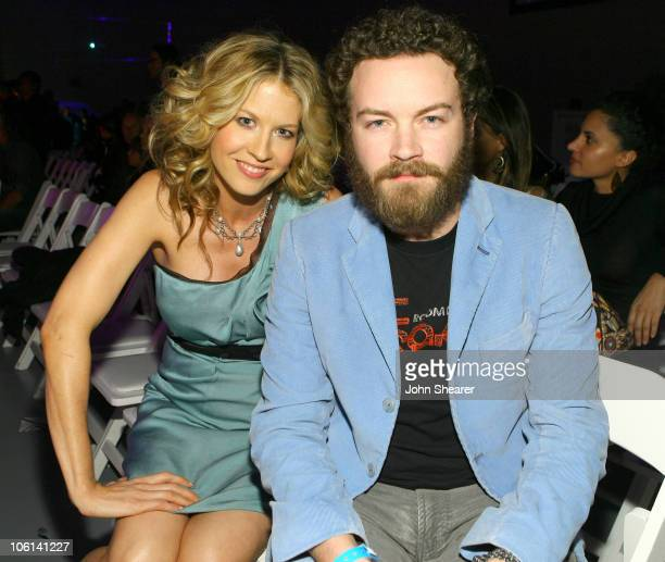 Jenna Elfman and Danny Masterson during 6th Annual GM Ten Front Row in Los Angeles California United States