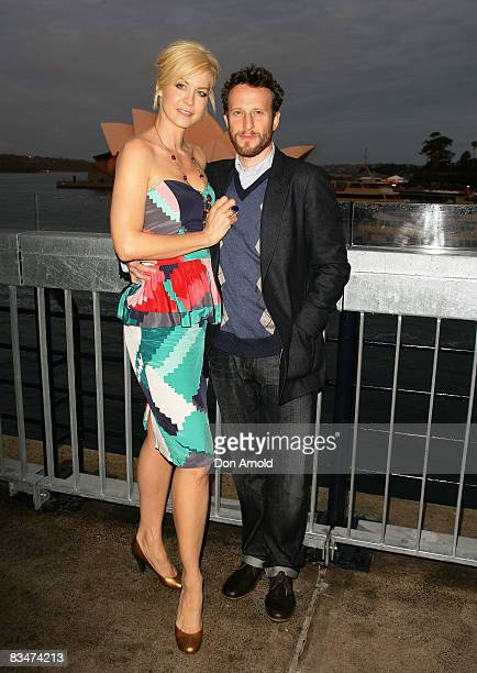 Jenna Elfman and her husband attends the 2009 MCN Upfront party, celebrating upcoming programming available on FOXTEL via the Multi Channel Network ,...