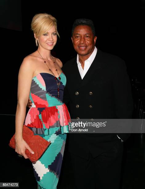 Jenna Elfman and Jermaine Jackson attends the 2009 MCN Upfront party celebrating upcoming programming available on FOXTEL via the Multi Channel...