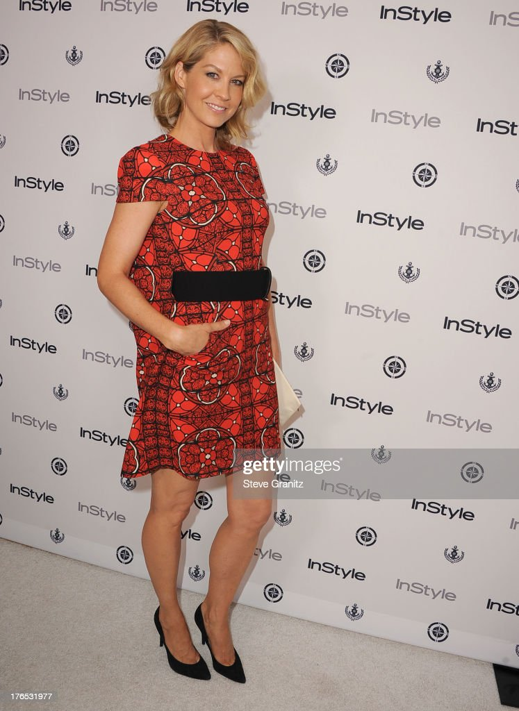 Jenna Elfman arrives at the 12th Annual InStyle Summer Soiree at Mondrian Los Angeles on August 14, 2013 in West Hollywood, California.