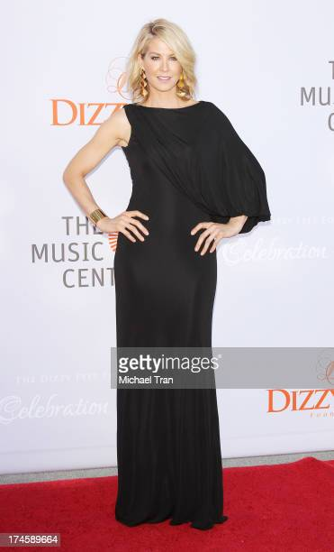 Jenna Elfman arrives at the Dizzy Feet Foundation's 3rd Annual Celebration of Dance Gala held at Dorothy Chandler Pavilion on July 27 2013 in Los...
