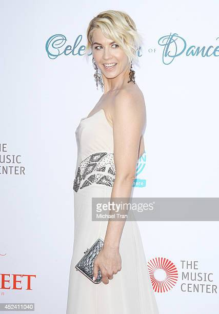 Jenna Elfman arrives at The Dizzy Feet Foundation's 4th Annual Celebration of Dance Gala held at Dorothy Chandler Pavilion on July 19 2014 in Los...