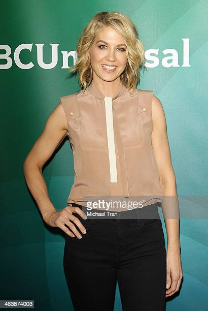 Jenna Elfman arrives at the NBC/Universal 2014 TCA Winter press tour held at The Langham Huntington Hotel and Spa on January 19 2014 in Pasadena...