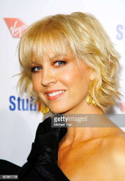 """Jenna Elfman arrives to the 3rd Annual """"Rock The Kasbah"""" fundraising gala held at Vibiana on October 26, 2009 in Los Angeles, California."""