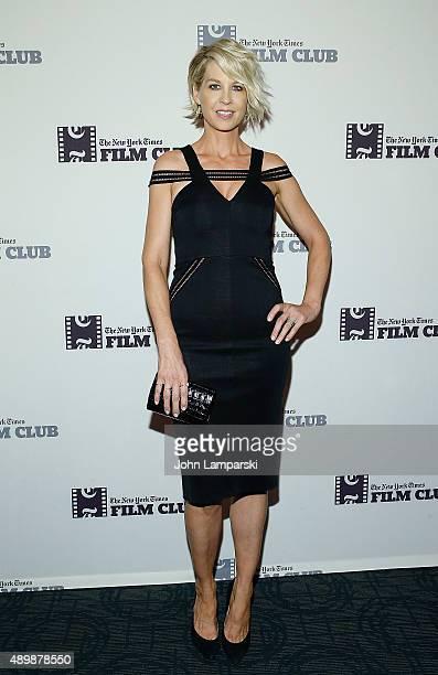Jenna Elfman attends 'Big Stone Gap' New York screening at Sunshine Landmark on September 24 2015 in New York City