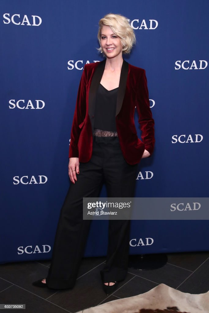 Jenna Elfman attends her Spotlight Award Photo Opp on Day Two of aTVfest 2017 presented by SCAD at SCADshow Greenroom on February 3, 2017 in Atlanta, Georgia.