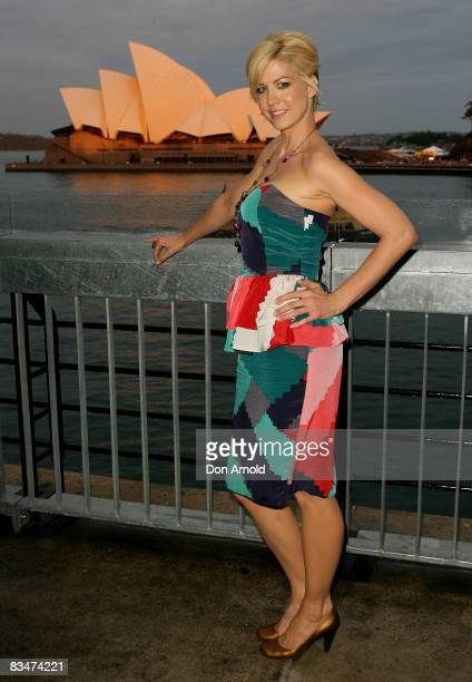 Jenna Elfman attends the 2009 MCN Upfront party celebrating upcoming programming available on FOXTEL via the Multi Channel Network at the Overseas...