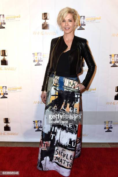 Jenna Elfman attends the 44th Annual Annie Awards at Royce Hall on February 4 2017 in Los Angeles California