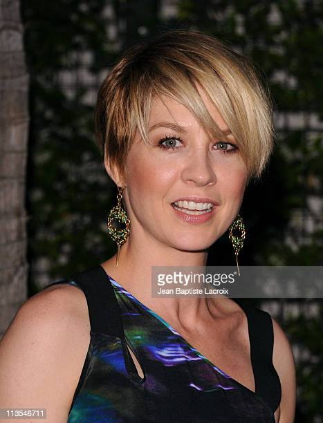 Jenna Elfman attends the Annual Backstage At The Geffen Gala Honoring Julie Andrews And CAA held at Geffen Playhouse on May 2 2011 in Los Angeles...