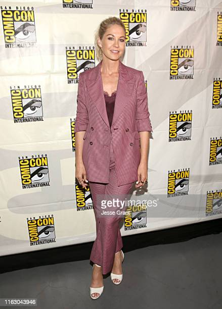 Jenna Elfman attends the Fear the Walking Dead Panel at Comic Con 2019 on July 19 2019 in San Diego California