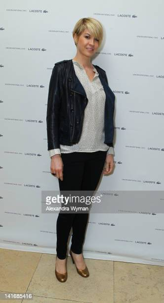 Jenna Elfman attends the LACOSTE launch of Women's Spring/Summer 2012 Collection held at The Sunset Tower on March 21 2012 in West Hollywood...