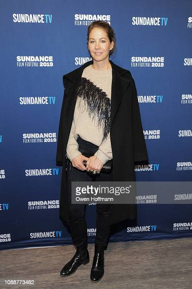 Jenna Elfman attends the Sundance TV Kick Off Party and Red
