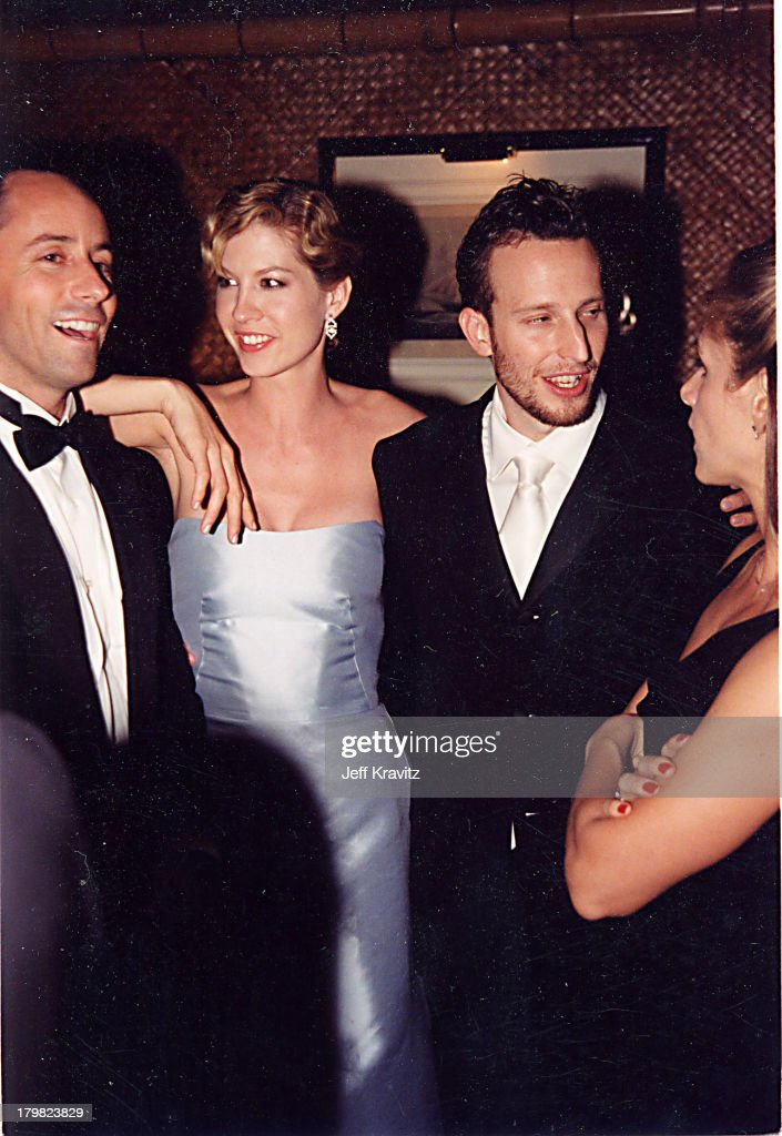 Jenna Elfman & Bodhi Elfman during 2000 Golden Globe SKG Party in Los Angeles, California, United States.