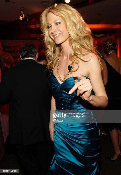 Jenna Elfman during InStyle & Warner Bros. 2006 Golden Globes After Party - Inside at Beverly Hilton in Beverly Hills, California, United States.