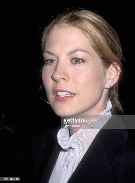 Jenna Elfman during Opening Night of 'Death of a Salesman' at Ahmanson Theater at the Performing Arts Center of LA in Los Angeles California United...
