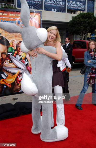 Jenna Elfman during World Premiere of 'Looney Tunes Back In Action' at Grauman's Chinese Theatre in Hollywood California United States