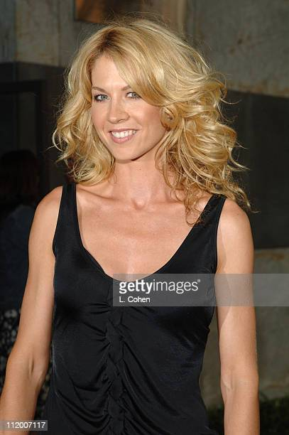 Jenna Elfman of Everything I Know About Men during CBS 2005 TCA Party Red Carpet at Hammer Museum in Los Angeles California United States