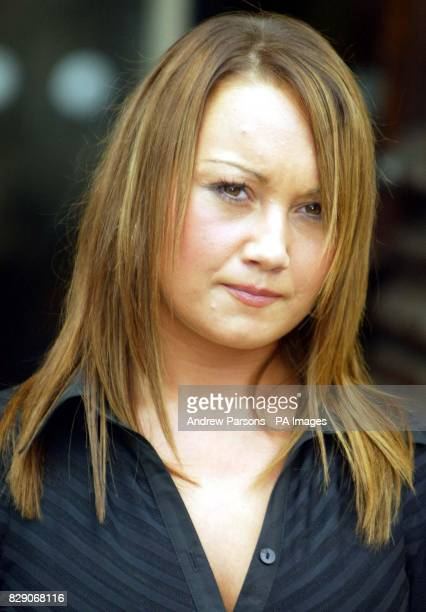 Jenna Ellis outside in a court in Rennes north west France on the second day of the trial of Spanish waiter Francisco Arce Montes who is accused of...