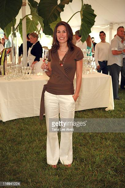 Jenna Fagnan during Hamptons Magazine's Cindi Cook and Cristina Cuomo Host Ruinart Champaign Experience with Kathy Sloane and Property Mkts Group at...