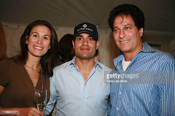Jenna Fagnan Nir Meir and Ziel Feldman during Hamptons Magazine's Cindi Cook and Cristina Cuomo Host Ruinart Champaign Experience with Kathy Sloane...