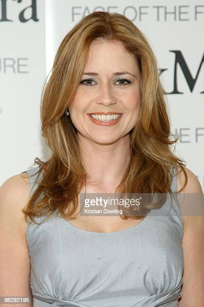Jenna Fischer arrives as actress Elizabeth Banks is honored as Women In Film MaxMara Face of the Future 2009 during a Cocktail Party at The Sunset...